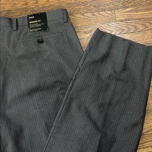 NWT Banana Republic Grey pants l 34/32
